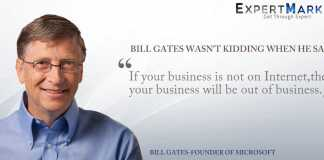 Bill gates quotes - If you business is on Internet then you are out of business
