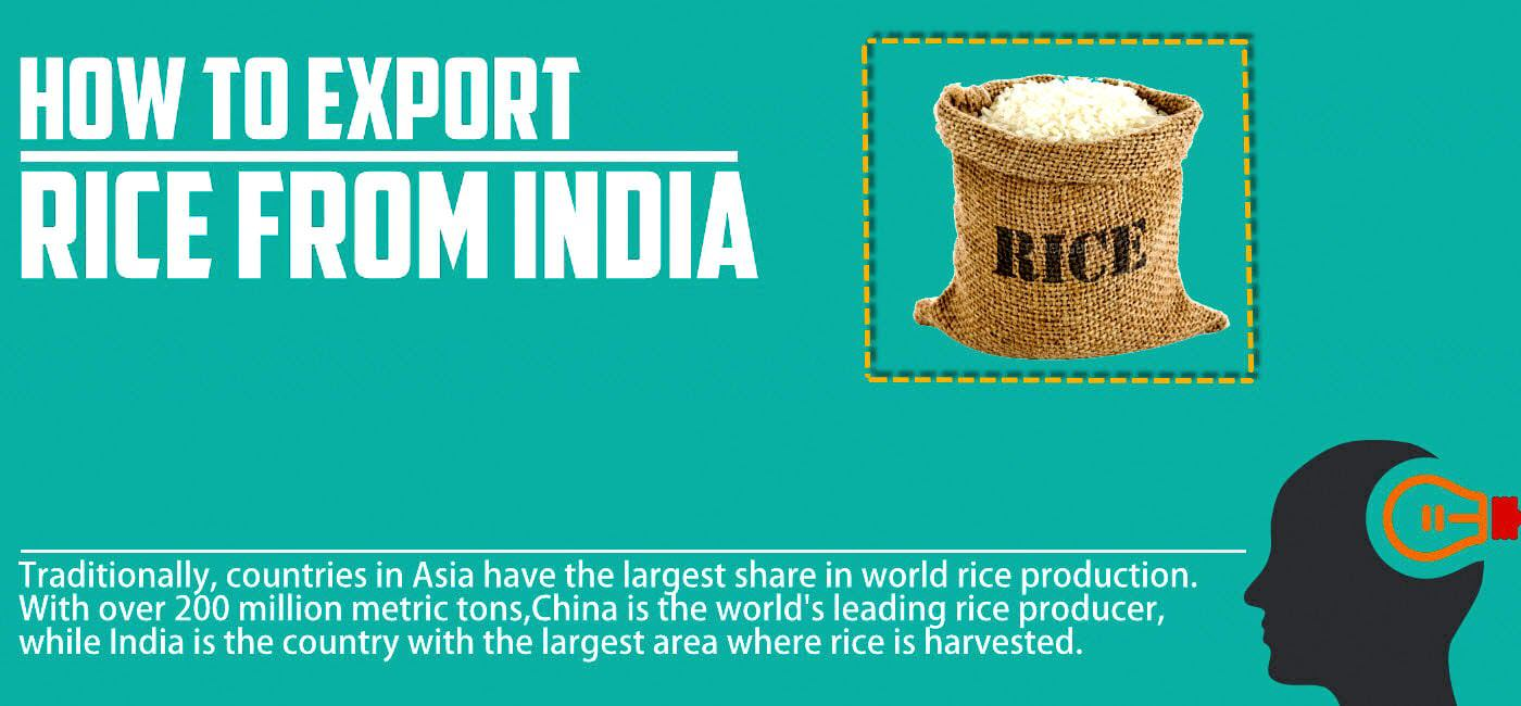 exporting rice india