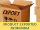 india export list