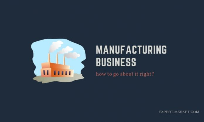 learn how to get started in manufacturing business