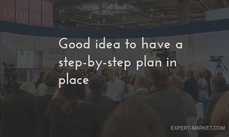 tips on how to organise business event efficiently
