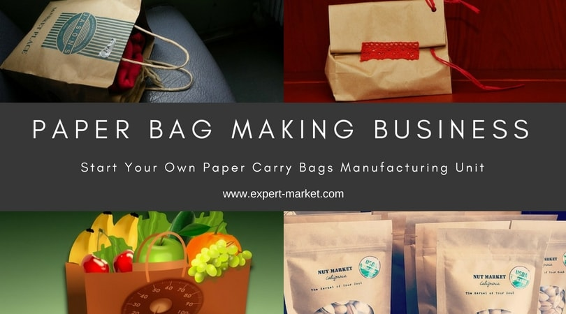 Paper Bag Making Business Plan U2013 Start Profitable Small Scale Manufacturing Business In India