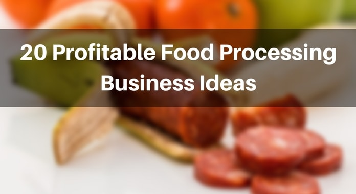 food processing business