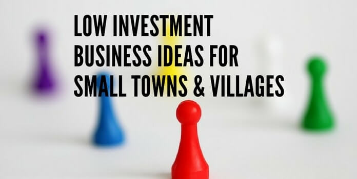 busines in villages and small towns