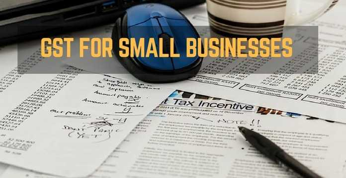 gst relief for small business
