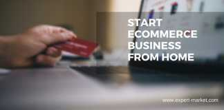 start ecommerce store from home