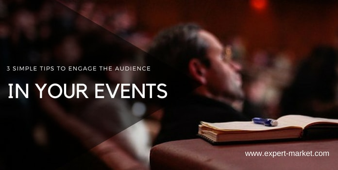 engage audience in an event