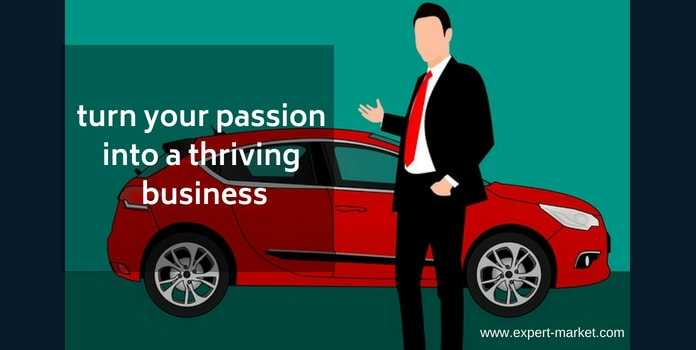 turn passion into business