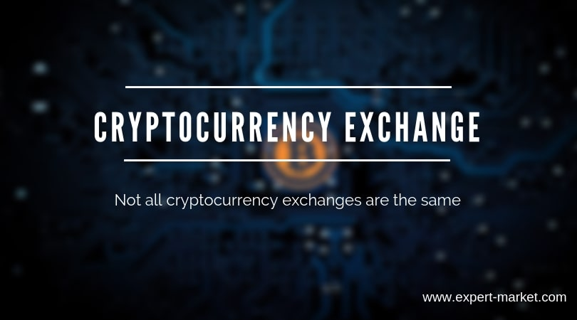 crypto currency exchange are not same. you have to choose it with care
