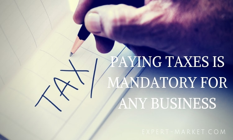 paying taxes is mandatory for any business in the USA