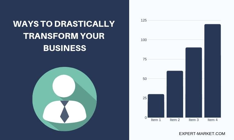 Drastically Transform Your Business