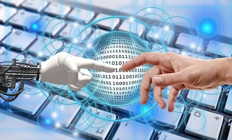 a business getting automated with robotic process automation